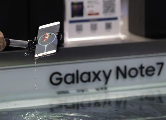 Samsung Galaxy Note 7, FAA, DOT