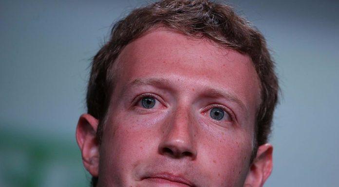 Mark Zuckerberg close up