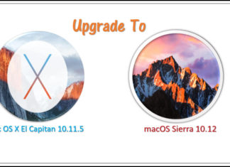 Upgrade from OS X to Sierra