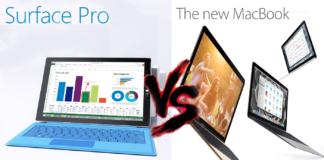 Surface Pro 4 versus Macbook Pro