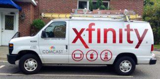 Comcast XFINITY 1TB home internet data usage cap