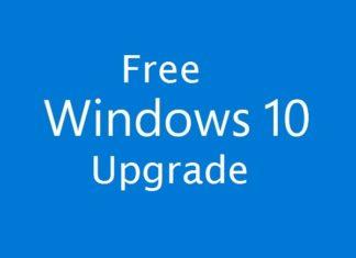 Windows 10 upgrade still free
