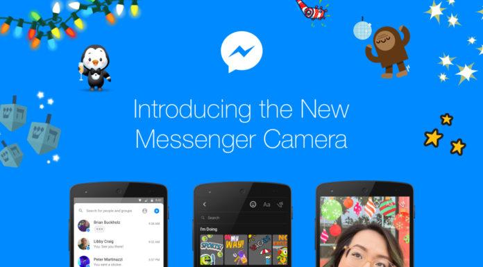 Facebook Messenger Camera function