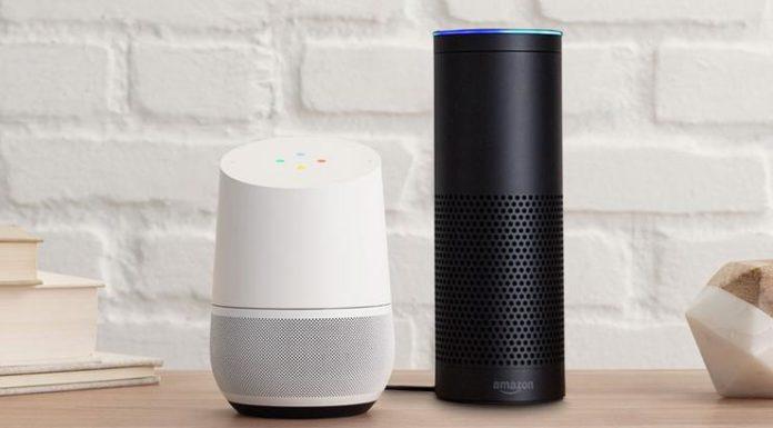 Google Home and Amazon Echo sales estimates 2017