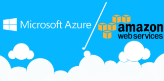 Is Microsoft Azure as big as Amazon AWS?