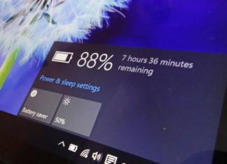 Windows 10 battery saving tips