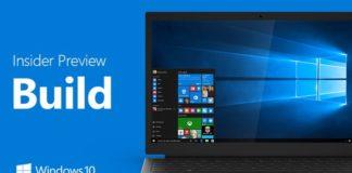 Windows 10 Creators Update preview builds