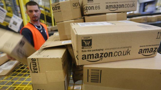 UK retail Amazon
