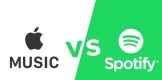 Spotify versus Apple Music