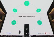 Amazon visual search on Galaxy S8