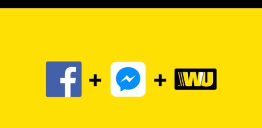 Facebook Messenger Western Union bot