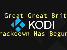 Great Great Britain Kodi Box Crackdown