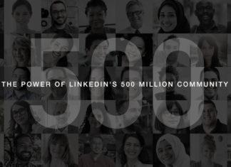 LinkedIn 500 million members Dynamics 365