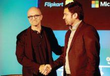 Microsoft investment in Flipkart