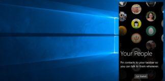 My People on Windows 10 Redstone 3