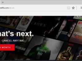 Netflix 4K Video Streaming on Microsoft Edge on Windows 10 Creators Update