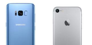 Samsung vs Apple smartphone marketshare