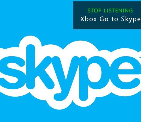 Skype UWP app for Xbox One