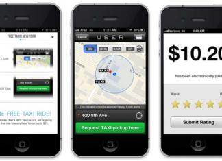 Uber app tracks iPhones