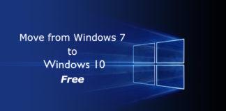 Windows 7 to Windows 10 Creators Update free