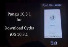 Pangu iOS 10.3.1 jailbreak