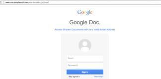 gmail phishing attacks