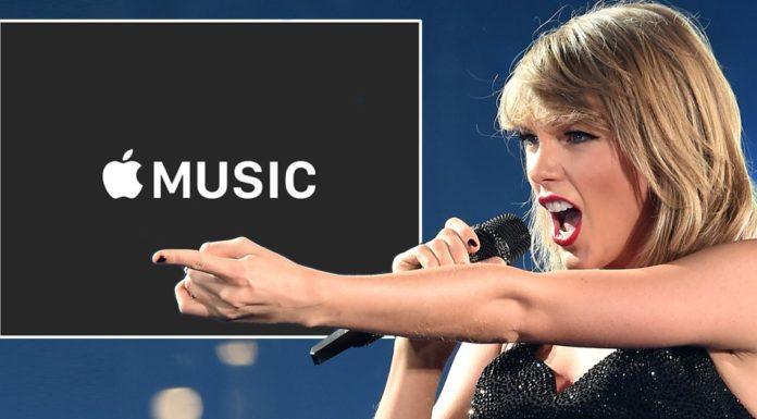 Taylor Swift Apple Music Spotify