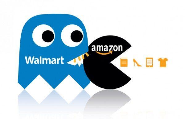 Walmart Amazon Retail