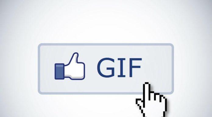 Facebook app GIF creator