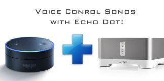 Amazon Echo Dot Sonos Alexa