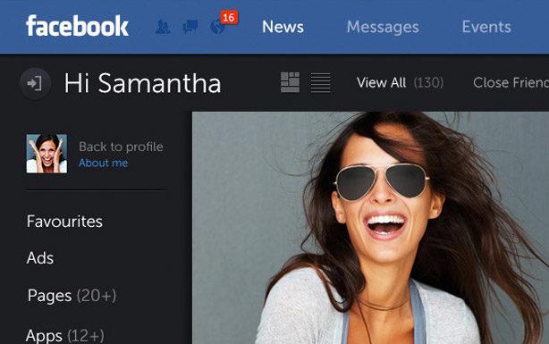 Facebook Redesigning