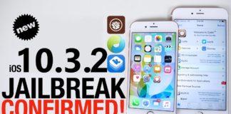 iOS 10.3.2 jailbreak confirmed