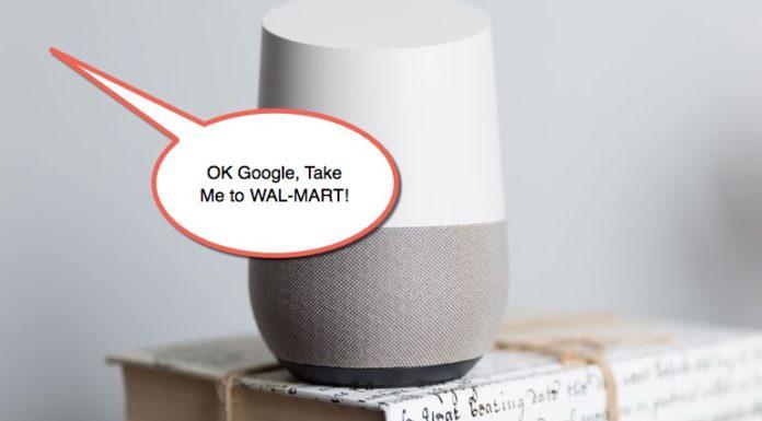Google Home Walmart Google Express