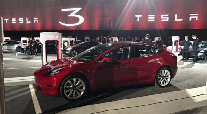 Tesla Motors TSLA Model 3