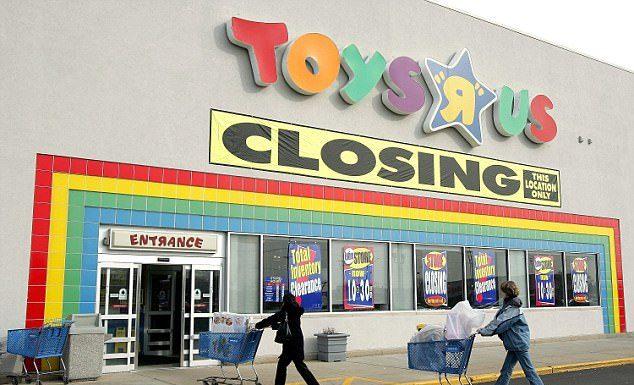 Toys R Us store closures