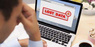 lost data, data loss