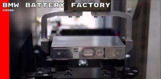 BMW EV battery China Facility