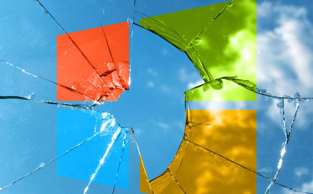 broken windows logo