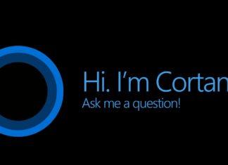 Microsoft Cortana screenshot