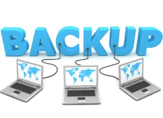 Windows 10 File History backup and restore