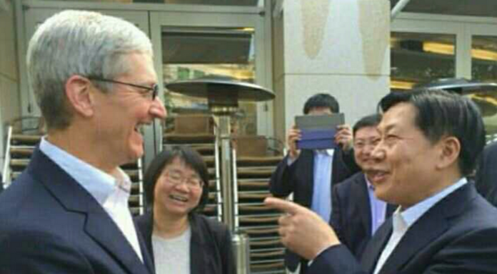 Apple CEO Tim Cook visits China
