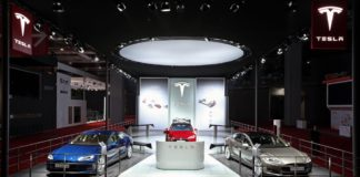 Tesla is the market leader in luxury car segment with 33% market share