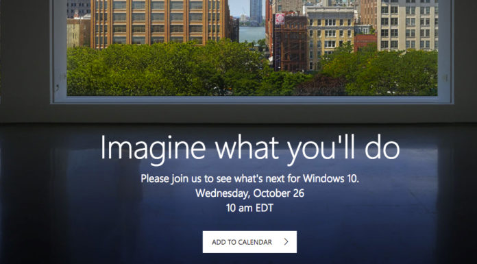 Microsoft Windows 10 event confirmed for October 26, 2016