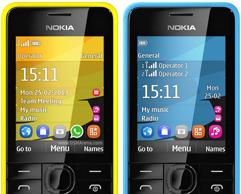 Nokia 301 - The bullet stopper!