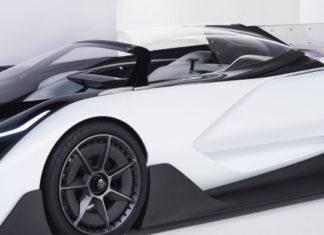 ffzero1 concept car from Faraday Future