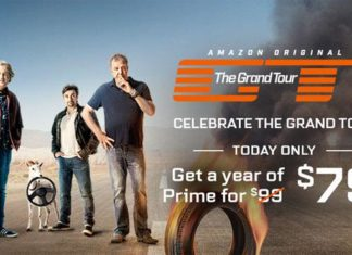 Amazon Prime for $79 for one year, November 18 only