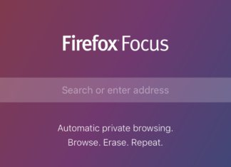 Firefox Focus iOS app for private browsing on iPhone, iPad and iPod Touch 6th generation