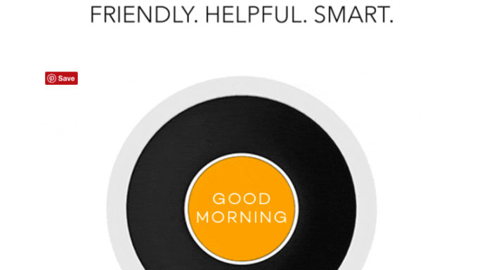 BONJOUR - the smart alarm clock that is voice activated and AI-enhanced