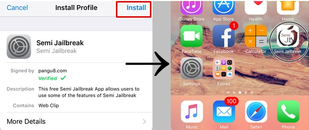 iOS 10.2 Semi Jailbreak
