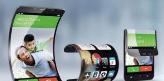 foldable smartphone screen